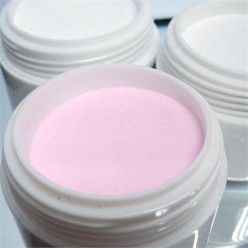350buy White/Clear/Pin k Crystal Acrylic Powder For Nail Tips