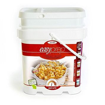 Saratoga Farms EasyPrep Pasta La Vista Emergency Food Supply (109 Servings)