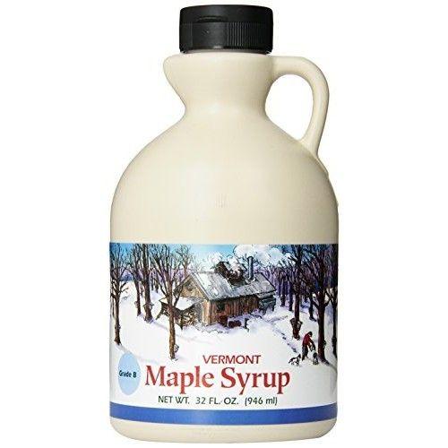Butternut Mountain Farm Pure Maple Syrup, Grade B, 1-Quart Jug