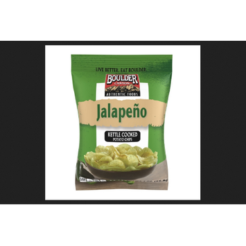 Boulder Canyon Natural Foods Boulder Canyon Jalapeno Kettle Cooked Potato Chips 2 oz. Bag (Pack of 8)