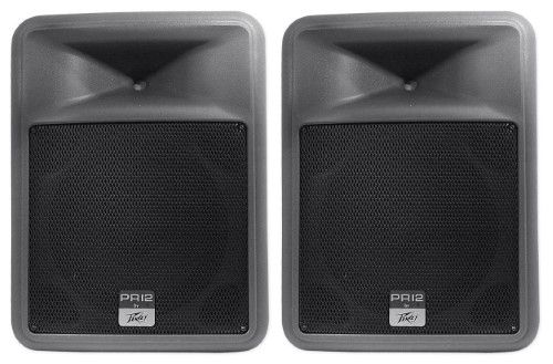 Brand New Peavey Pr 12 12' 800 Watt Two Way Lightweight Portable Pa Speaker w/ Neo Magnet