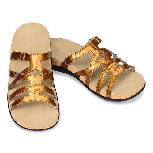 Spenco Women's Roman Gold Sandal, Size 10