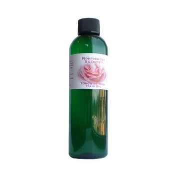 Northwest Scents Touch of Rose Hair Oil for Black, African American, Afro Caribbean, Dry, Coarse, and Highly Textured Hair - 4.0 oz bottle