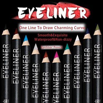 DZT1968 12 Colors Waterproof Eye Make Up Eyeliner Pencil