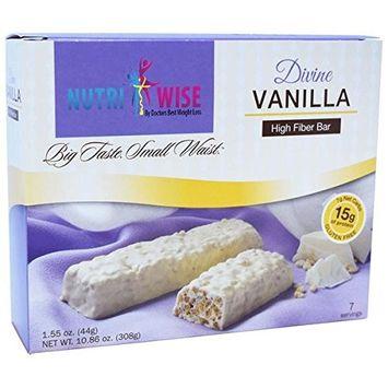 NutriWise - Divine Vanilla Protein Diet Bar