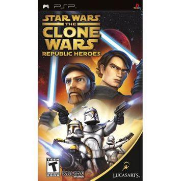 Lucasarts Entertainment Company LucasArts Star Wars the Clone Wars: Republic Heroes (PSP)