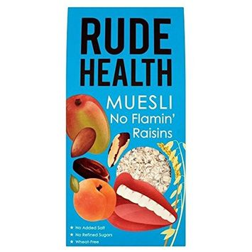 Rude Health No Flamin' Raisins Muesli (500g) - Pack of 2
