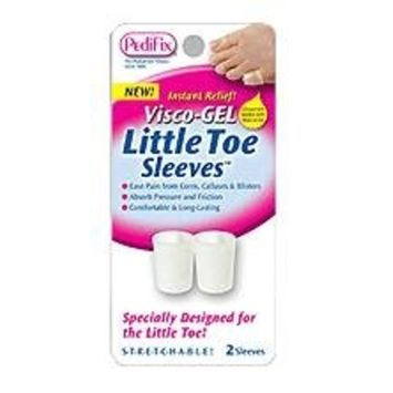 PediFix Visco-gel Little Toe Sleeves, 2 Count