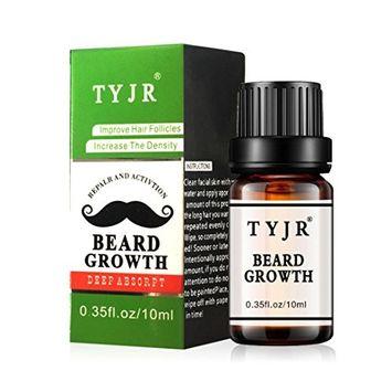 Beard Balm Growth Essential Oil,Lotus.flower Beard Growth Essential Oil Moustache Styling Moisturizing Gentlemen Care 10ML