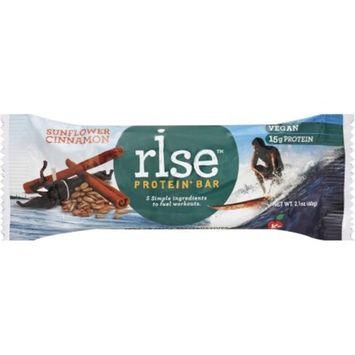 Rise Sunflower Cinnamon Protein+ Bars, 2.1 oz, 12 count
