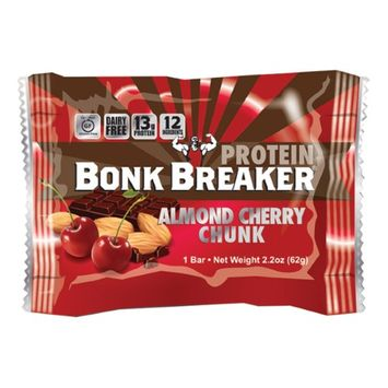 Bonk Breaker High Protein Energy Bar Flavor AlmondCherryChunk