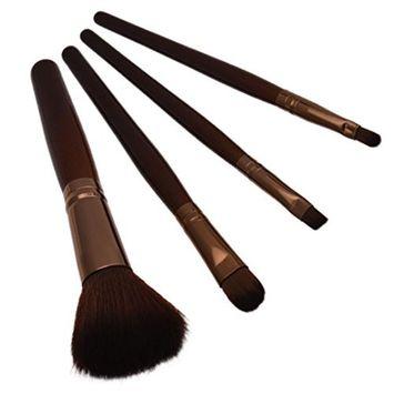 Start 4 pcs/Sets Makeup Brush Set for Eye Shadow Foundation Eyebrow Lip