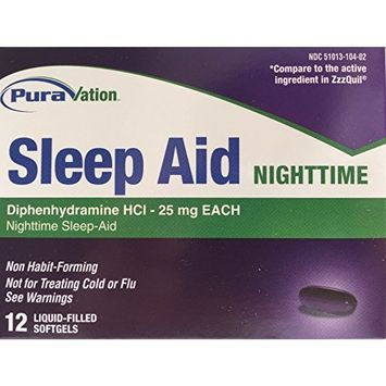 Sleep Aid Nighttime - 12 softgels