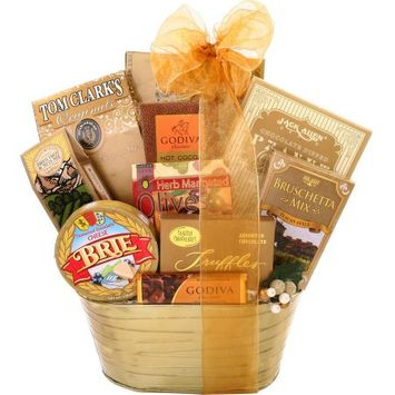 Alder Creek Gift Baskets Alder Creek Elegant Gourmet Choice Gift Basket, 11 pc