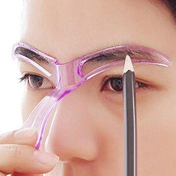 VK 5pcs Professional Beauty Tool Women Lady Makeup Grooming Drawing Blacken Eyebrow Template