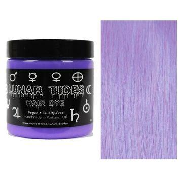 Lunar Tides Hair Dye - Iris Pastel Purple Semi-Permanent Vegan Hair Color (4 fl oz/118 ml)