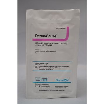 Dermarite Industries 00240E HYDROGEL DERMAGAUZE DRESSING 2X2