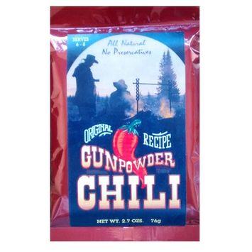 Gunpowder Foods Original Recipe Chili Seasoning - 2.7 oz pack of 6