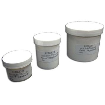 Bakedeco Gum Tragacanth, for Gumpaste and Pastillage 1 Oz