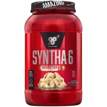 Syntha-6 Protein Powder - Apple Pie A La Cold Stone (2.59 Lbs. / 25 Servings)