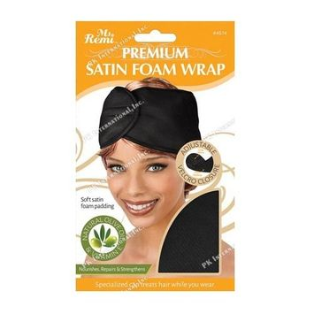 (PACK OF 6) ANNIE MS REMI DELUXE-OLIVE OIL SATIN FOAM WRAP (4574) : Beauty