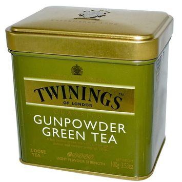 Twinings, Classics, Gunpowder Green Loose Tea, 3.53 oz (100 g) [Flavor : Gunpowder]