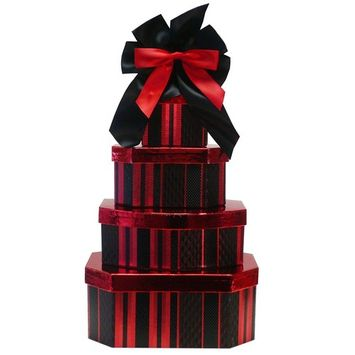 Deluxe Indulgence All Chocolate Gift Tower (Ice Packaging)
