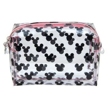 Disney Mickey Mouse & Friends Vintage Mickey Heads Cosmetic Bag