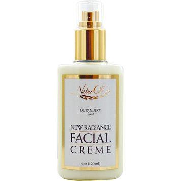 NaturOli, New Radiance, Facial Creme, Olivander Scent, 4 oz (120 ml)