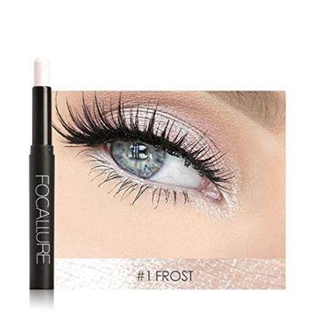 DZT1968 12 bright Colors Beauty Pro Highlighter Eyeshadow eyeliner Pencil Cosmetic Glitter Eye Shadow Pen 114x13mm