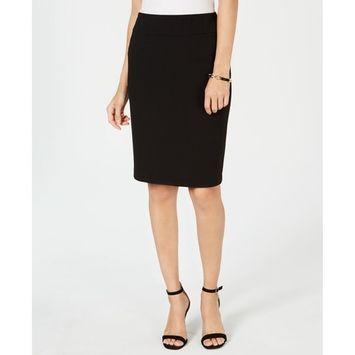 Pull-On Pencil Skirt