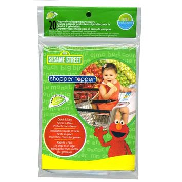 Neat Solutions Sesame Street 20 Count Shopper Topper, Sesame Street (Discontinued by Manufacturer)