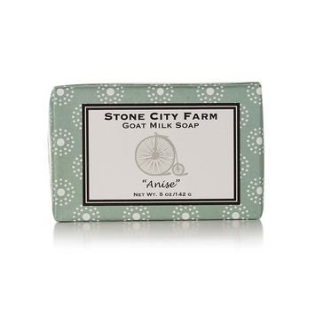Anise Goat Milk Soap - 100% Natural 5 oz. Bar