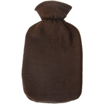 Fashy Hot Water Bottle with Plushie cover set (Chocolate)