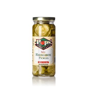Habagardil pickle sweet bread and butter dill pickle habanero (Spicy)