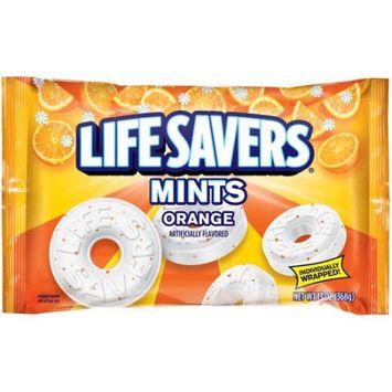 Wrigley Life Savers Orange Mints Hard Candy Bag, 13 ounce