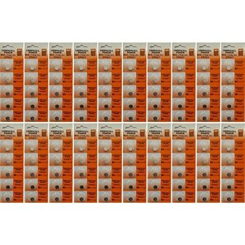 100 Pack Lithium Coin Battery - 3 Volt - For Keyless Entry and Remote Controls - CR927 Size - Loopacell Brand