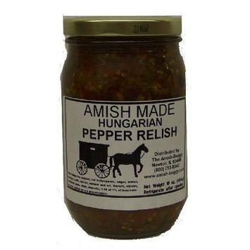 Mild Hungarian Pepper Relish - 2-16 Oz Jars