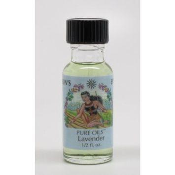 Lavender - Sun's Eye Pure Oils - 1/2 Ounce Bottle