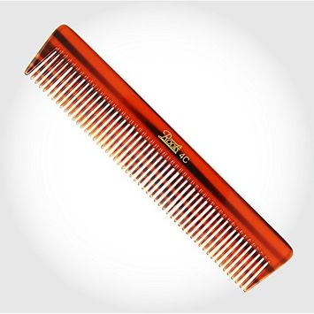 Roots Brown Wide Teeth Comb for Fine Long Straight Hair unisex comb for home