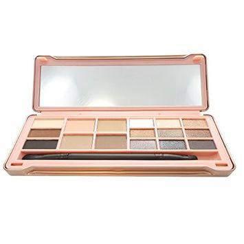 OKALAN 16 Shade Natural Eyeshadow Palette - A