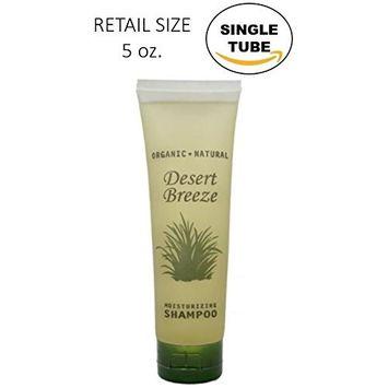 Desert Breeze Shampoo, Retail Size Hotel Toiletries, 5 oz (Single)