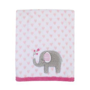 Parent's Choice Applique Blanket, Elephant