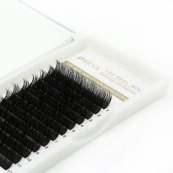 3D Mink Fur Eyelash Extensions Individual Mink Lashes Private Natural False Eyelashes,C Curl Mixed Length 8-14mm