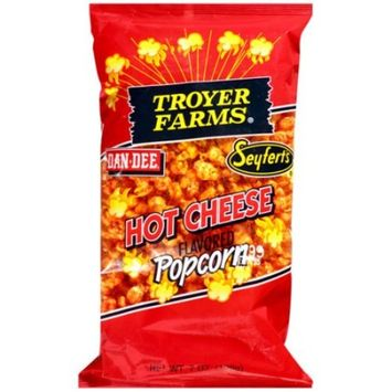 Troyer Farms Hot Cheese Popcorn, 7 oz