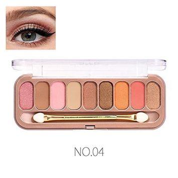 KaiCran Pro Eyeshadow Palette Makeup Palette 9 Colors Shimmer Eyeshadow Eye Shadow Palette