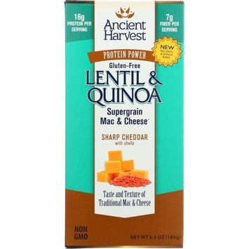 Ancient Harvest Lentil & Quinoa Mac & Cheese Pasta, 6.5 Oz (Pack Of 6)