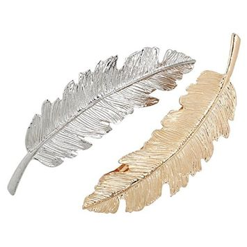SODIAL Hairpins delicate clip claw pin accessories brooch headdress style hair jewelry - 2pcs