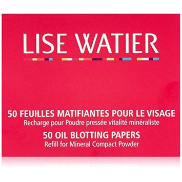 Lise Watier Oil Blotting Papers, 50 sheets