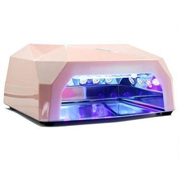 gel polish dryer nail UV LED lamp 36W led 110V AC Light Coffee